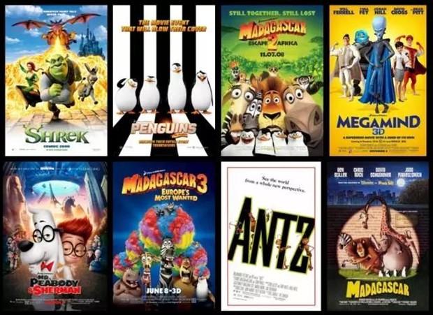 21家好莱坞大牛动画特效制作公司