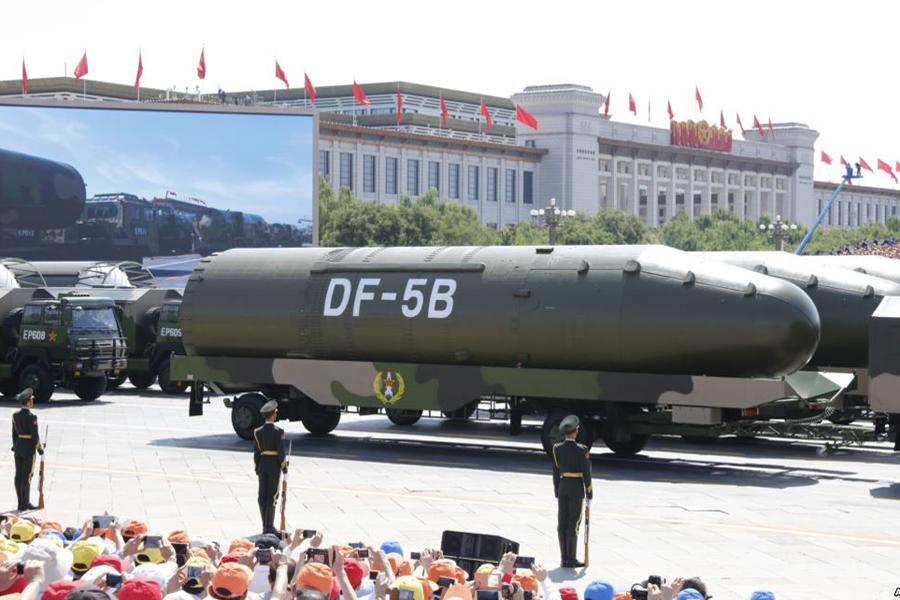 美媒:中国陈旧核导弹或杀死5千万美国人