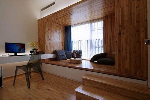 小房间榻榻米设计效果图