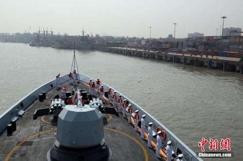 印媒:中国军舰停泊孟加拉提升在印度洋存在感