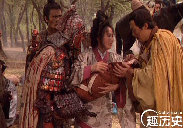 刘备摔阿斗的故事 真正用意是什么?图片