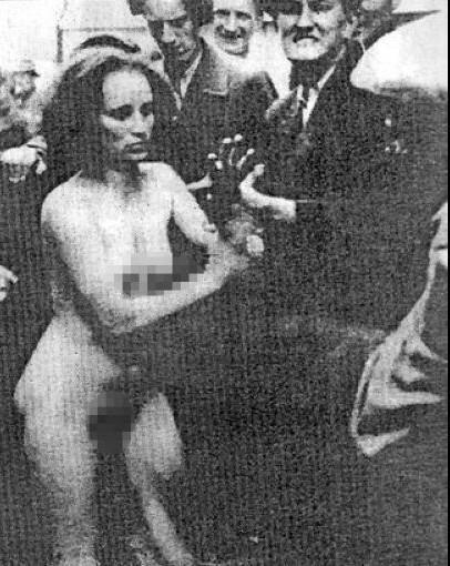 二战中犹太女人遭殃
