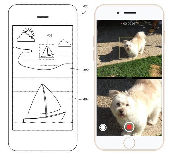 这一系统,有点类似于数码变焦.-两镜头可独立使用 苹果申请双镜