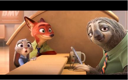 热点 正文    3月4日,迪士尼最新动画《疯狂动物城》在北美和中国同步