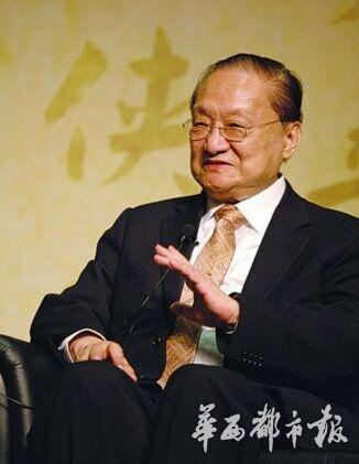 金庸迎92岁生日 张纪中专程赴港祝寿