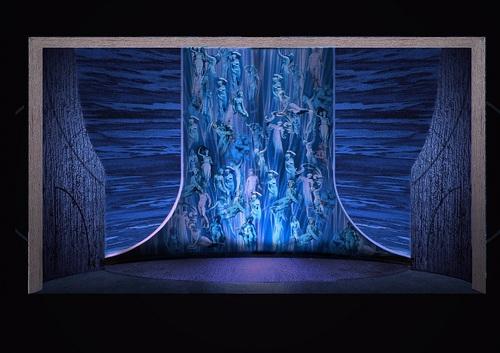 国家大剧院制作《唐豪瑟》舞美设计图
