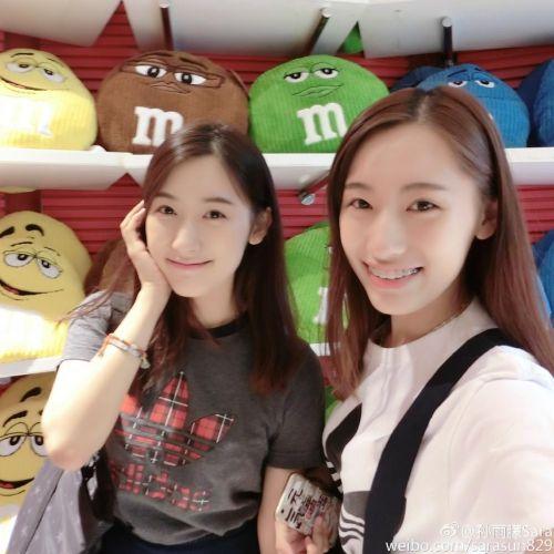 复旦大学双胞胎姐妹花走红(2)