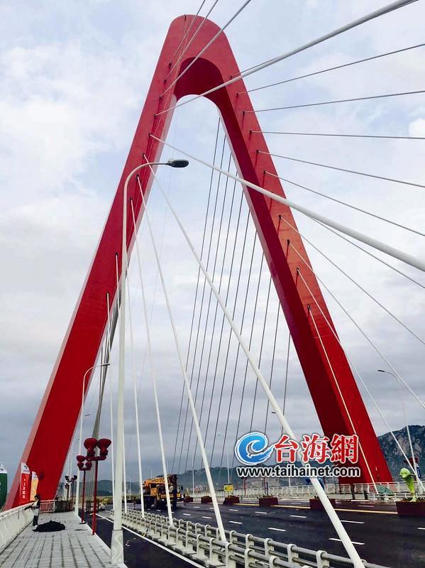 双鱼岛大桥正式通车 为游客登岛提供便利