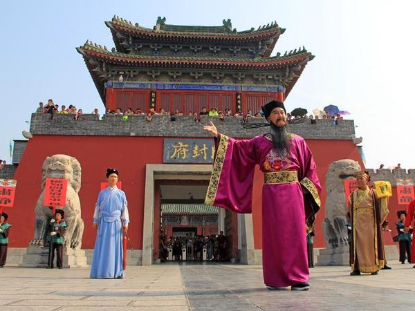 最人文、最发达、最强盛的都城. 华夏民族之文化,历数千载之演进