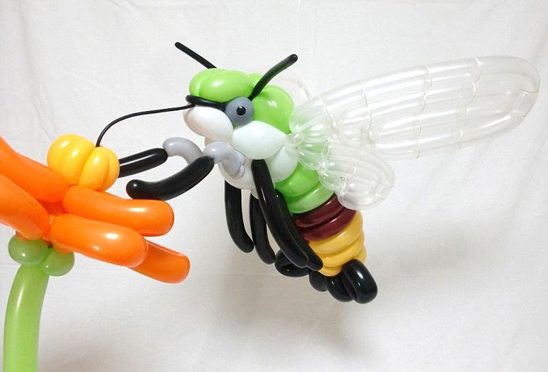 日本男子巧手编织气球动物创意十足(11)