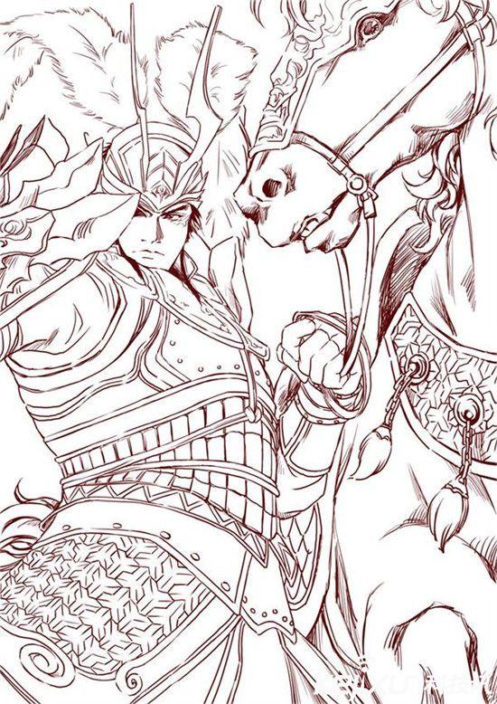 """吕布字奉先,三国五原郡九原人,官至温侯,身材高大(估计有190m以上),相貌英俊,武艺高强。   吕布不但衣着华丽,而且喜欢耍酷,他一出场就是""""器宇轩昂,威风凛凛,手执方天画戟,怒目而视"""",简直是酷毙了。   第五名:嵇康"""