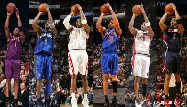 一.手型   手型这个不是天赋,是基本功,是长期训练的结果。所以,刚开始接触篮球时,能有个好的启蒙老师是最重要的。手型不单单决定了投篮姿势是否帅,还决定着命中率。纵观NBA历史得分手,雷吉米勒,雷阿伦,乔丹,艾弗森,手型都是一等一的。