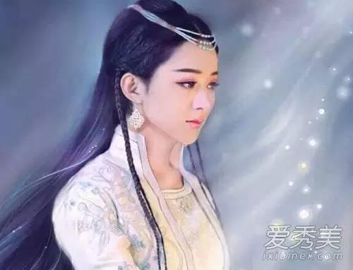 赵丽颖古装服饰很美 但古装长发更好看 给人一种清澈灵秀的感觉(2)