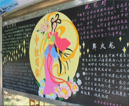 中秋节手抄报黑板报内容精选 关于中秋节的来历和传说