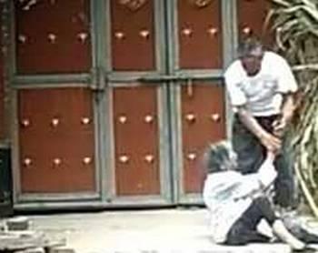暴打91岁丈母娘 整个殴打过程幅度很大 女婿施暴视频曝光 案件正在