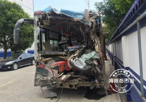 福州三环惨烈车祸追踪:80路公交司机疑疲劳驾驶