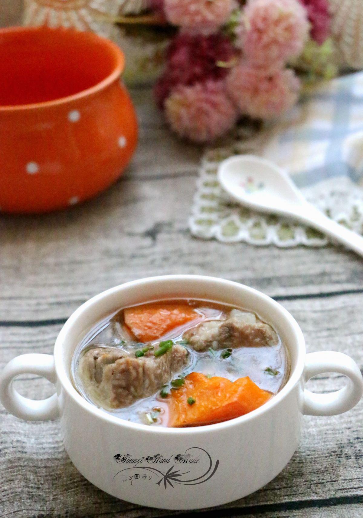 胡萝卜排骨汤的做法 胡萝卜排骨汤怎么做好吃(3)