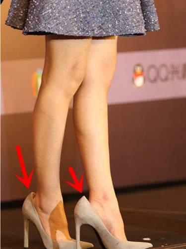赵丽颖脚多大的鞋子