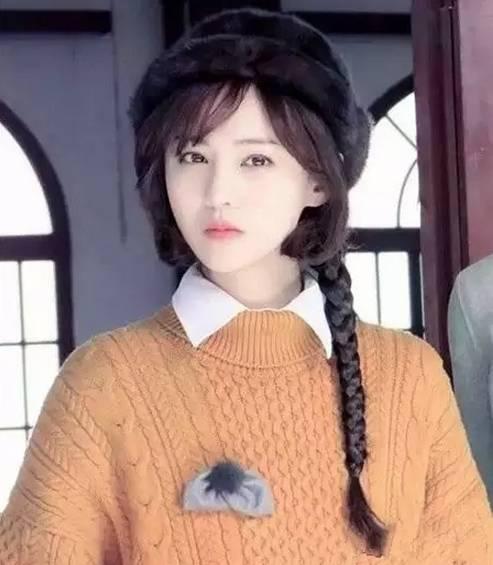 《翡翠恋人》郑爽的伪短发 再次美出了新高度!