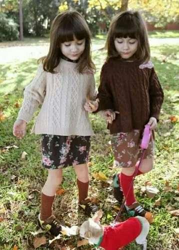 曾经的最美双胞胎 如今依旧美得不要不要的(3)