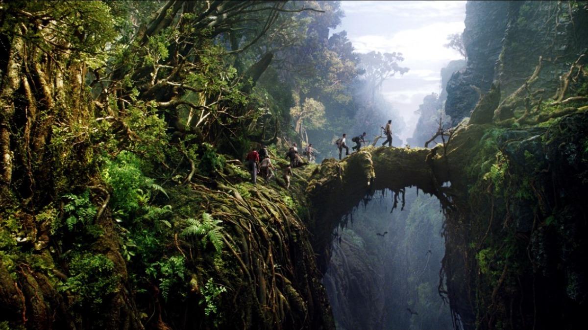 《金刚:骷髅岛》景甜携手抖森大战巨型猩猩