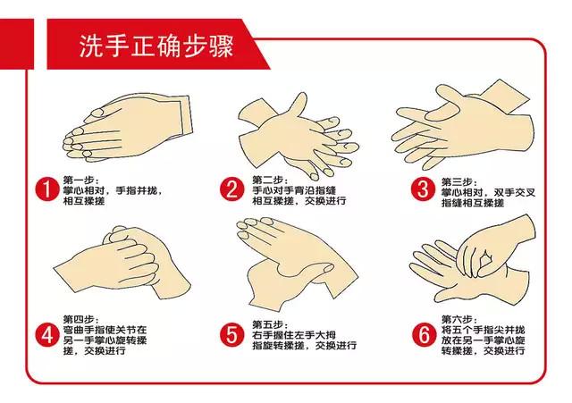 二 正确的洗脸步骤