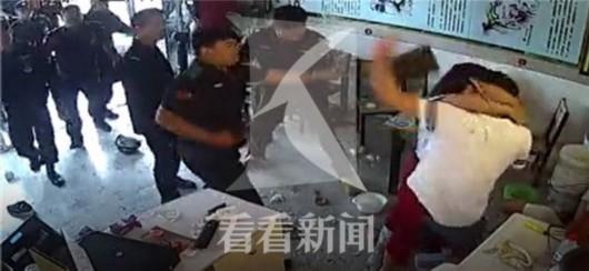 网曝浦江镇一饭店员工遭殴打 所有伤员无生命危险 涉事10名人员已被刑拘