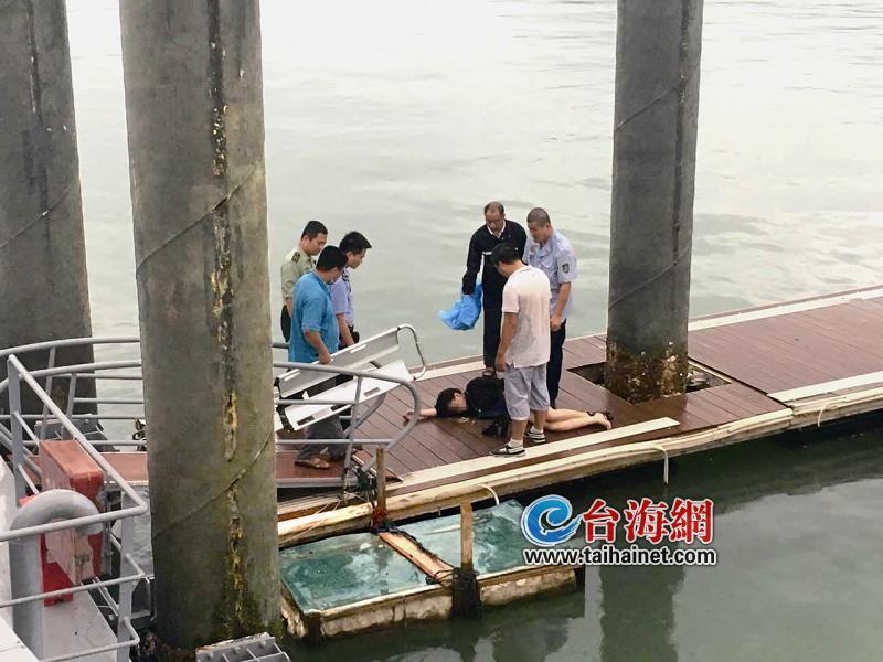 厦门好的哥朱江涛救起轻生跳海少女 20米高他想都没想就跳下