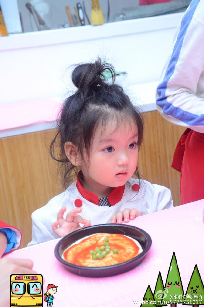 3岁小萌娃阿拉蕾走红 生活照曝光可爱懂事(组图)(29)