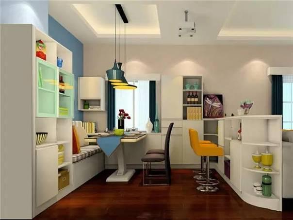 50平小户型北欧风格公寓装修