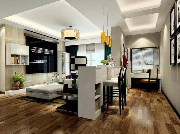 50平小户型北欧风格公寓装修(3)