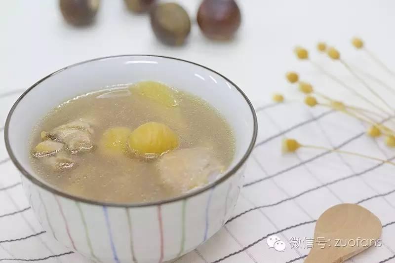 板栗炖鸡汤的做法 剥板栗的小技巧