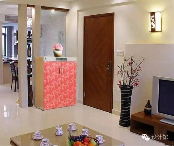 打开门就是客厅 鞋柜该如何放?(6)