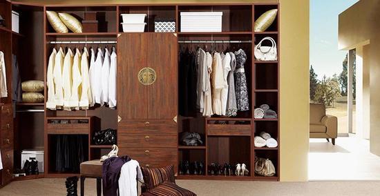 1米8衣柜内部结构图