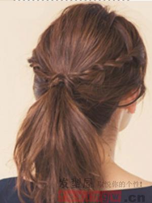 中长发怎么扎才好看 简单设计显气质(2)