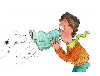 感冒流涕可爱图片