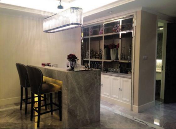 厨房大理石吧台图片和效果图