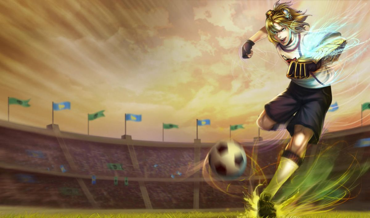 英雄�盟LOLer眼中的足球�� �l�⒔M成最���容�D片 87763 1200x708