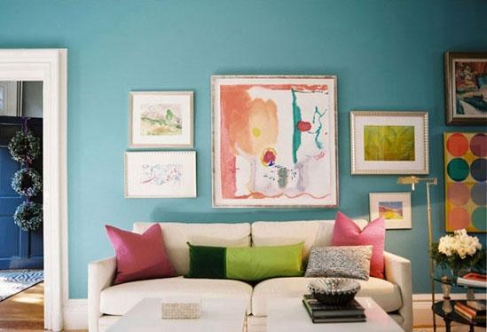 家居装修:色彩秀个性 客厅搭配法则!