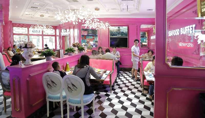 海鲜自助餐厅可以很浪漫_特色餐馆_美食_生活频道
