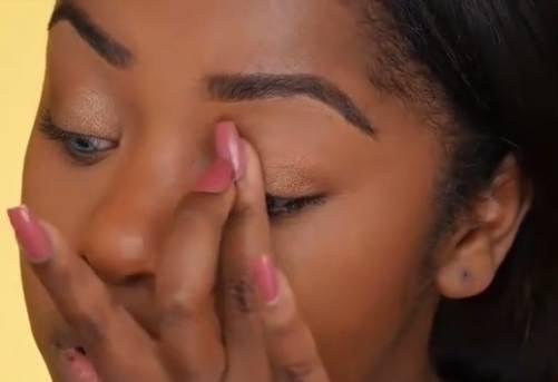 黑妞化妆变女神  化完终于看清她长啥样了!