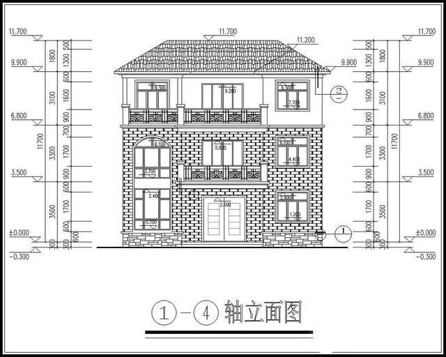三层豪华自建别墅(设计图纸)