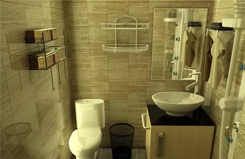 4平小型卫生间装修效果图 !