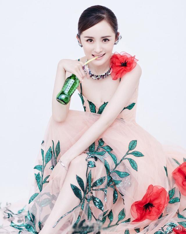 范冰冰拍照不怕撞衫 这件裙子杨幂杨颖都穿过(2)