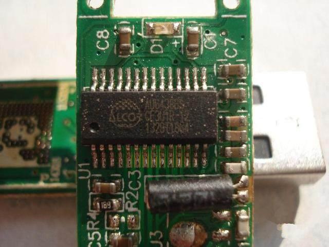芯片板焊接接线图