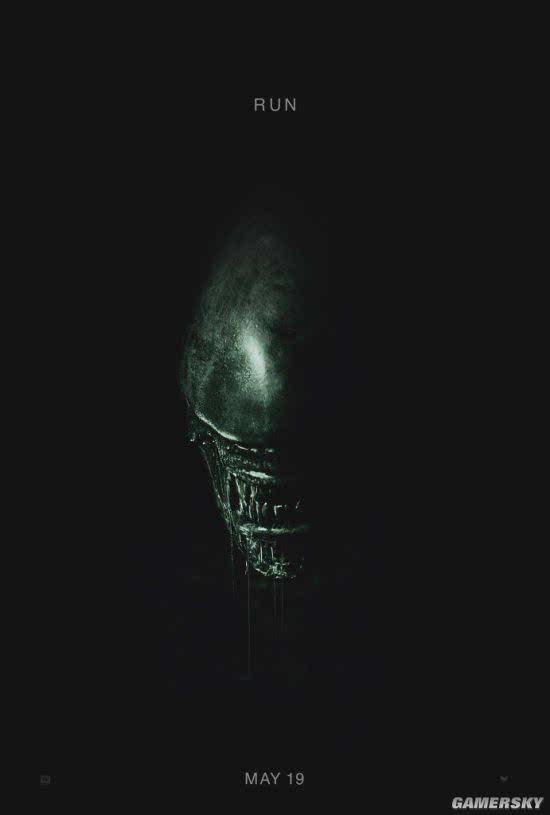 电影《异形:契约》首款海报异形惊悚现身 电影宣布提档至2017年5月上映