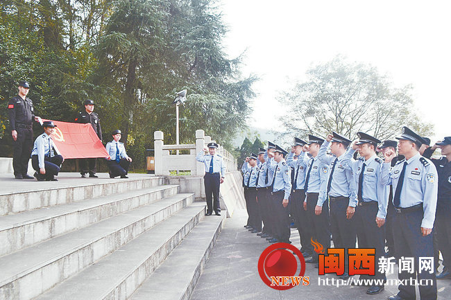 长汀大同派出所到红色教育基地开展革命传统教
