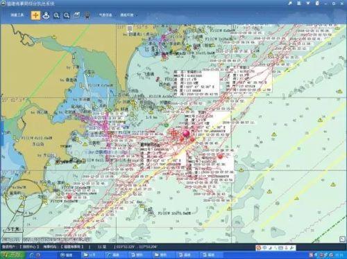 事故发生在漳州东山岛以东10海里附近水域