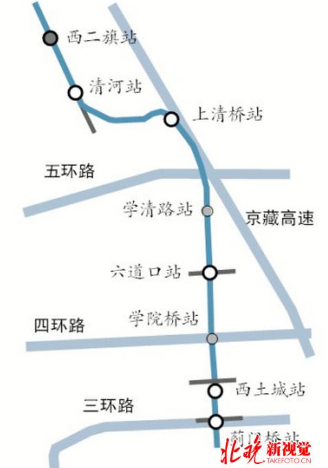 北京地铁16号线北段今开通运营 现场3小时进出客流量达5000人次