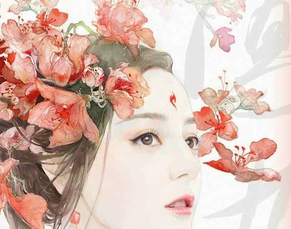 《三生三世十里桃花》曝海报 画师对该剧真挚喜爱(5)